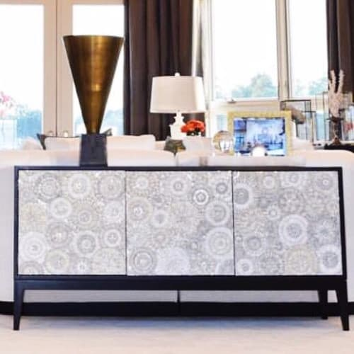 Furniture by Ercole seen at Private Residence, New York - Milano 3-Door Buffet