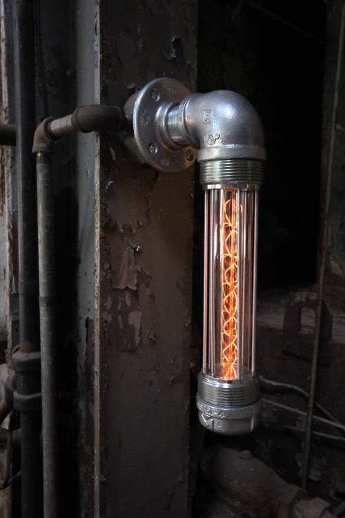 Sconces by Pandemic Design Studio seen at Philadelphia, Philadelphia - The Glow Worm Sconce