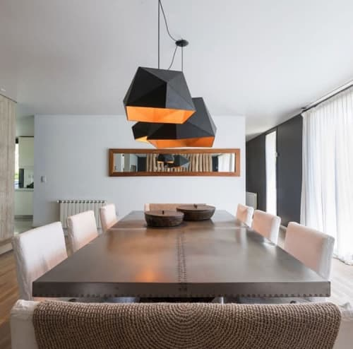 Pendants by Estudio Moas seen at Private Residence, Buenos Aires - icolamp