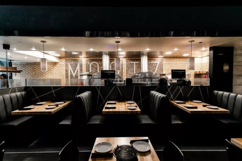 Interior Design by Martone Design Studio LLC seen at Mootz Pizzeria and Bar, Detroit - Interior Design