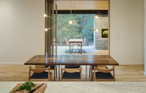 Tables by Elijah Leed seen at Private Residence, Kerhonkson - Dining Table