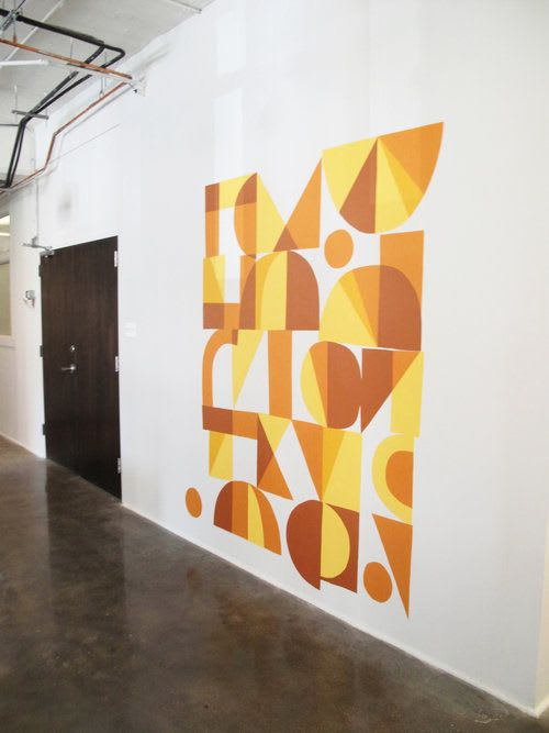 Murals by Wyatt Grant seen at Chicago, Chicago - Inventables Mural
