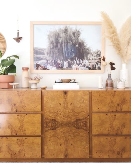 Furniture by Milo Baughman seen at Private Residence, Culver City, Culver City - Cabinetry