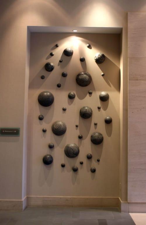 Sculptures by Larry Halvorsen at The Westin Bellevue, Bellevue - Wall Ball installation