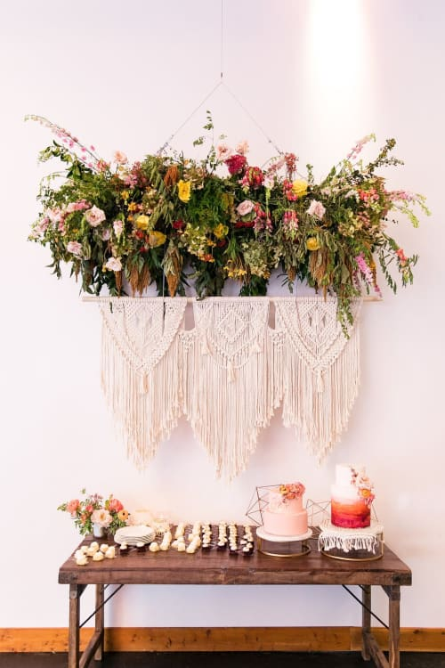 Art & Wall Decor by Hilo Sisters Macrame seen at sixty five hundred, Dallas - Macrame wall hanging