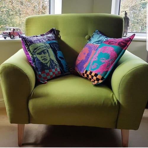 Penny Burdett Designer Knitwear - Pillows and Textiles