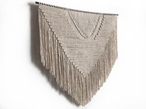 Macrame Wall Hanging by MACRO MACRAME by Maeve Pacheco seen at Localhaus, Brooklyn - MACRAME WALL HANGING