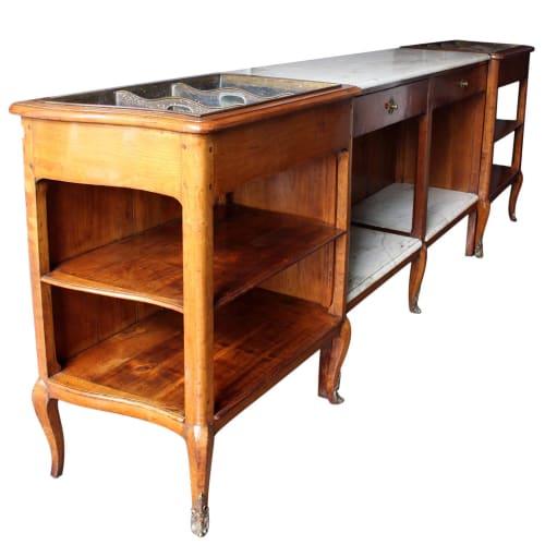 Furniture by Jonathan Rachman Design seen at SF Decorator Showcase 2019, San Francisco - Lauren Bacall Bar