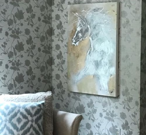 Paintings by Donna B Fine Art, Donna Bernstein, Artist seen at Private Residence - White Link