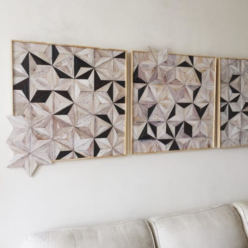 Wall Hangings by Nicole Sweeney seen at Private Residence, San Francisco - Starburst Tiles