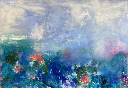 Paintings by Kathleen Rhee seen at Gold Coast, Gold Coast - Monet Colour: Big Love Series