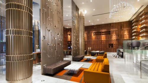 Couches & Sofas by Naula seen at Sheraton Grand Los Angeles, Los Angeles - Abyss Sofa