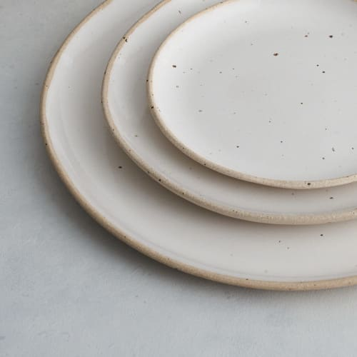 Ceramic Plates by The Super Sparrow seen at London, London - Dinner plates
