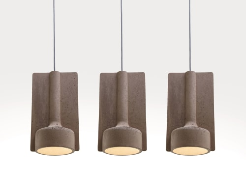 Lamps by Kateryna Sokolova seen at Private Residence, Kyiv - Pendant lams MOLD