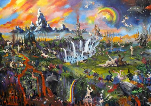 Adam O'Day Fine Art - Art and Street Murals