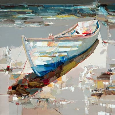 "Art & Wall Decor by YJ Contemporary seen at East Greenwich, East Greenwich - Josef Kote ""Drifting off to Tranquility"""