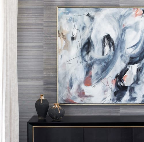 Paintings by Alice Watt seen at Private Residence, Clifton - Paintings