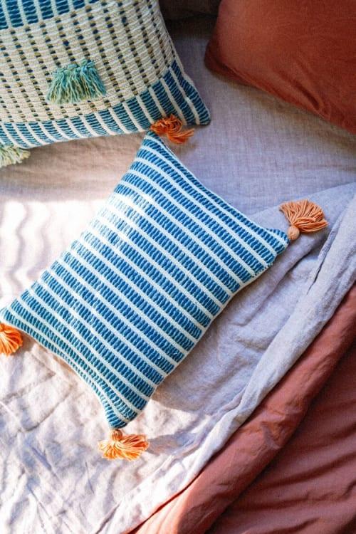 Pillows by Zuahaza by Tatiana seen at Creator's Studio, Bogotá - Jardin Pillow