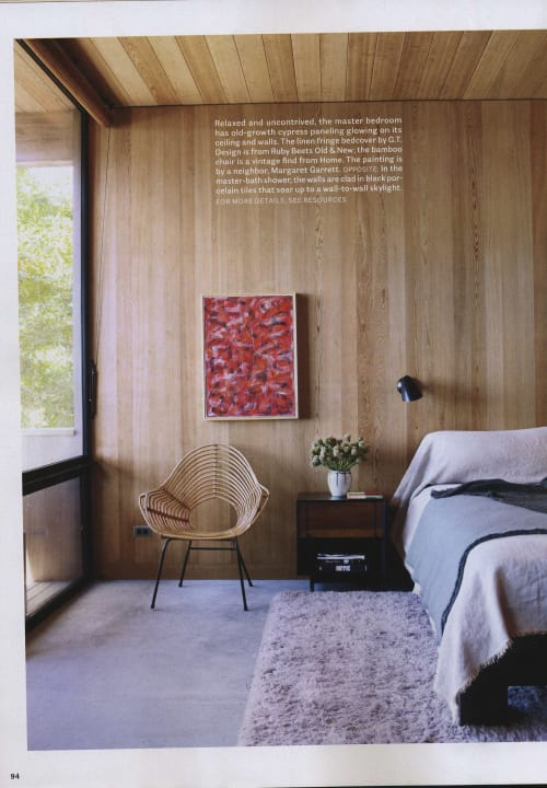Paintings by Margaret Garrett seen at House Beautiful Magazine, New York - Tuning Fields 106