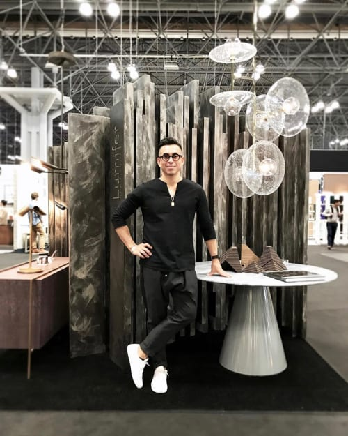 Lighting by Lumifer by Javier Robles seen at Jacob K. Javits Convention Center, NYC, New York - ICFF 2019 Booth
