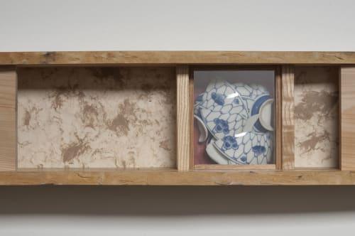 Sculptures by Wendy Maruyama Studios seen at The Center For Art In Wood, Philadelphia - Zenmetsu