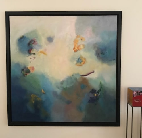 Paintings by Cecilia Arrospide seen at Private Residence - Lima, Peru, Lima - DEEP SEA