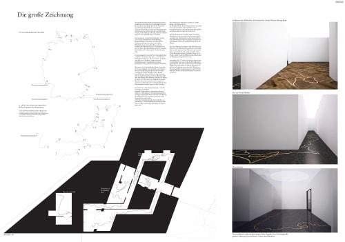 Interior Design by GiKaMa seen at Bundesministerium des Innern, für Bau und Heimat, Berlin - Die große Zeichnung