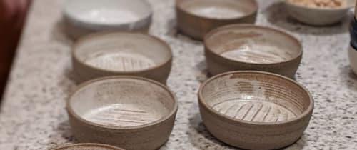 Ceramic Plates by Ceramicsbytiz seen at Private Residence, Tallinn - Ceramic dishes for Tallinn Supper Club