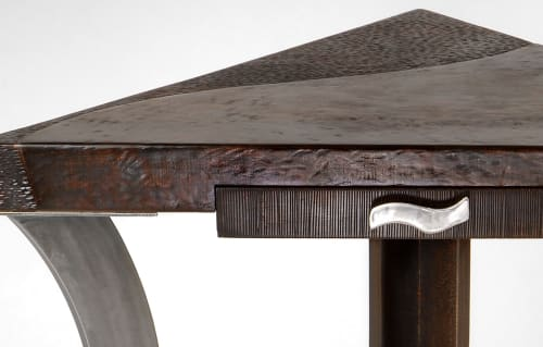Tables by Andi-Le at Private Residence, New York - Corner Writing Desk