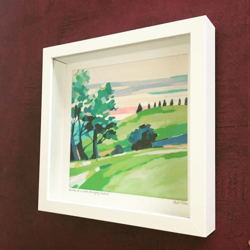 Paintings by Jade Fisher seen at Private Residence, Foxground - Painting