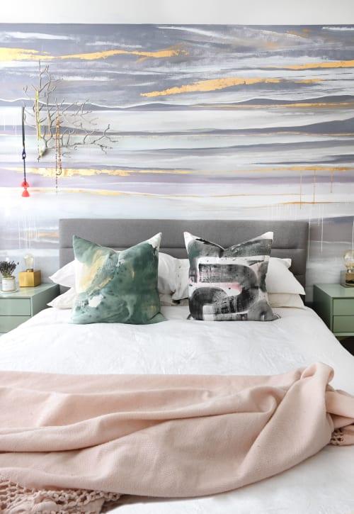 Murals by Dana Mooney Art seen at Private Residence, Vancouver - Custom Bedroom Mural