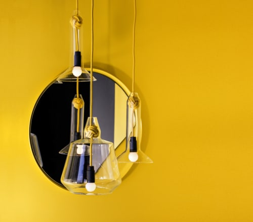 Pendants by Vitamin seen at Vitamin Living Studio, London - Vitamin Small Knot Pendant Lamp