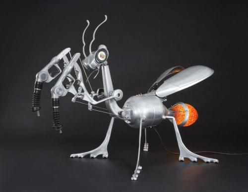 Sculptures by Nemo Gould seen at Ripley's Believe It or Not!, San Francisco - Praying Mantis