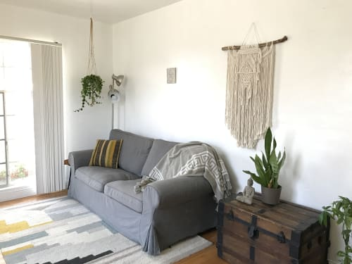 Love Wild Soul - Macrame Wall Hanging and Art