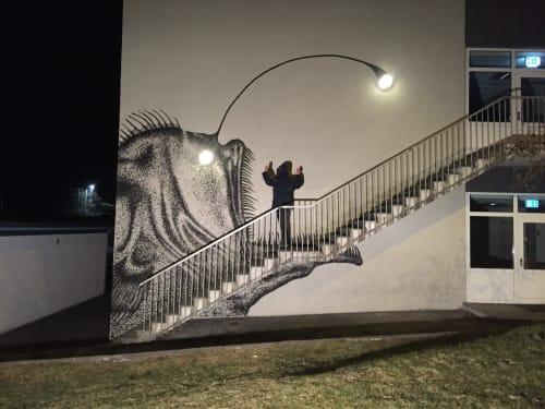 SKURK - Street Murals and Murals