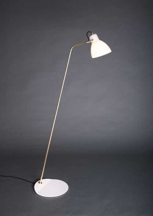 Lamps by SEED Design USA seen at 858 Lind Ave SW, Renton - LAITO OPAL Floor Lamp