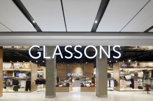 Interior Design by Landini Associates seen at Glassons, Macquarie Park - Glassons
