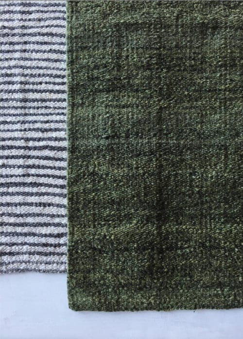 Rugs by AWANAY seen at Private Residence, Buenos Aires Province - MATCHA RUG