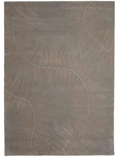 Rugs by Naja Utzon Popov - Botanica Kiri Green Grey