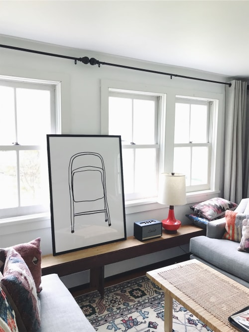 Paintings by Rochelle Udell seen at Private Residence - Westchester County, NY - The Folding Chair