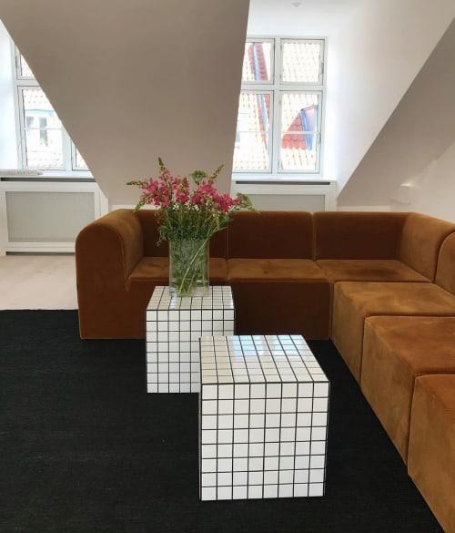 Tables by IKON KØBENHAVN seen at Creator's Studio, København - Cube