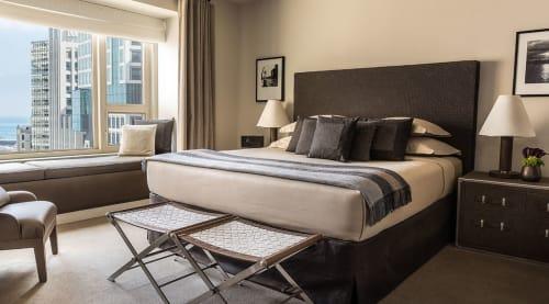 Interior Design by David Grout, Gary Lee Partners seen at Private Residence, Chicago - Park Hyatt Custom Bottega Veneta Suite