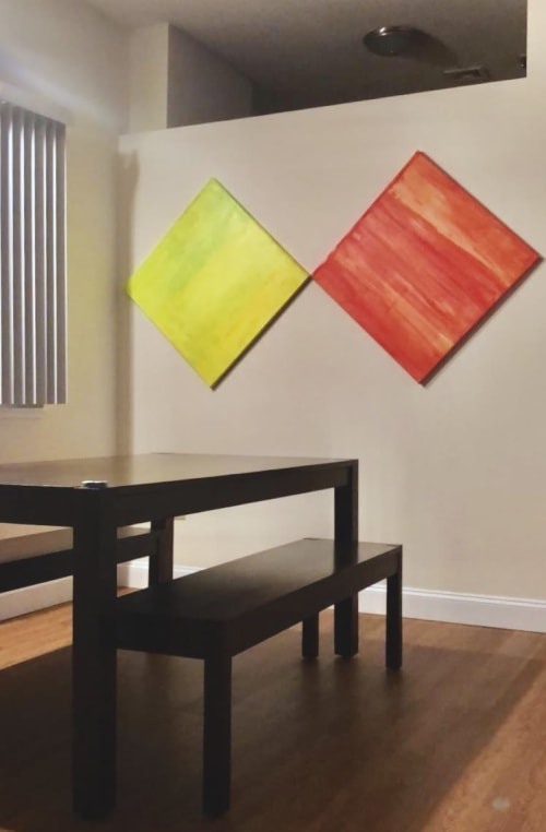 Paintings by sorayart - sorayacaballero seen at Private Residence - Boston, MA, Boston - Citrics2