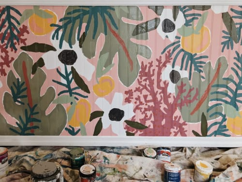 Murals by The Small Creative seen at Tybee Island - Register Mural for Washed Ashore Collective