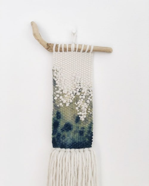 Macrame Wall Hanging by Elle Collins seen at Private Residence, Solihull - Bian Tonnow (small wave) No.1