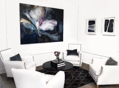 Paintings by Sarah Raskey seen at Private Residence, Chicago - Across the Universe