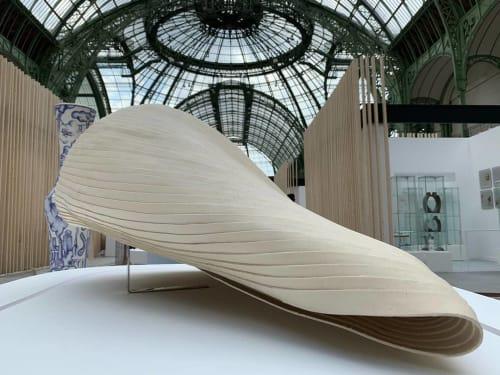 Sculptures by Mecedes Vicente seen at Grand Palais, Paris - Cignus