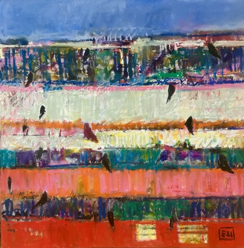 Paintings by Ellie Harold Fine Art seen at Private Residence, Frankfort, Frankfort - Another Horizon