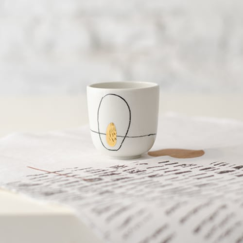 Cups by Boya Porcelain - Nova Cup, Cappuccino and Espresso size