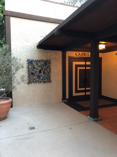 Public Sculptures by Corey Ellis Art seen at The Garland, Los Angeles - Several Wall Sculptures at The Garland Hotel in Hollywood